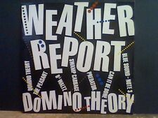 WEATHER REPORT  Domino Theory   LP       RARE !