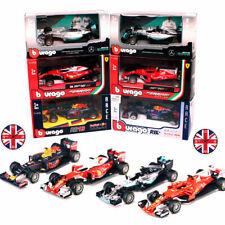 Bburago 1:43 Formula One F1 Mercedes Farrari Red Bull Race Diecast Model Car
