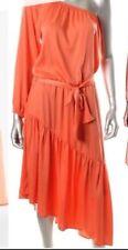 New missing belt $198 BCBG Max Azria Keli one shoulder B689 Dress Sz S
