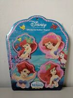 Official Special Edition Disney Princess Little Mermaid 4pc Die Cut Magnets VGC