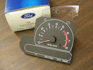 NOS OEM Ford 1993 Mercury Villager Dash Gauge Tachometer Tach Minivan