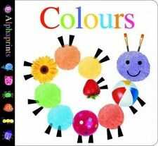 Alphaprints Colours by Priddy Books (Board book, 2015)