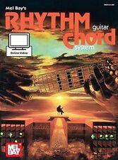 Mel Bay's Rhythm Guitar Chord System Learn Play GUITAR MUSIC BOOK Online Video