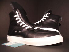 KRIS VAN ASSCHE KRISVANASSCHE SNEAKERS WITH LACING ON SIDES BLACK WHITE 9 9.5 42