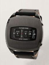 NEW BEAMS FUTURE FUNK FF101 ANA-DEGI Men's Watch BLACK w/ Tracking