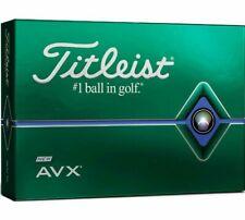 TITLEIST AVX 2020 White Golf Ball - 2 Dozen (24 Balls)