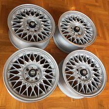 """BMW E30 Genuine BBS 7x15"""" Style 5 alloy wheels rims EUROWEAVES RARE VW Rabbit"""