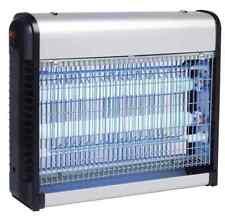 Zanzariera Elettrica Anti Zanzare Mosche 2 Lampade UV LED 6,5W Elettroinsett.