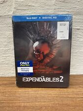 NEW The Expendables 2 (Blu-ray Disc, 2015) Best Buy Exclusive Steelbook Stallone