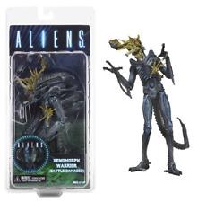 "NECA Aliens Series 12 Blue Xenomorph Warrior Battle Damaged 9"" Figure IN STOCK"