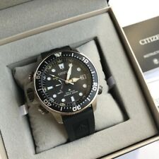Citizen Promaster Diver Watch * Aqualand BN2036-14E Black Dial Black Rubber