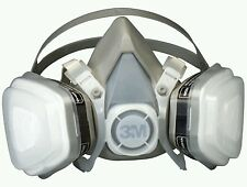 3M 7193 (07193) Dual Cartridge Respirator Mask Assembly Organic Vapor/P95 LARGE