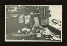 CZECHOSLOVAKIA 1938 Weipert take over Police Station RP PPC+provisory? postmarks