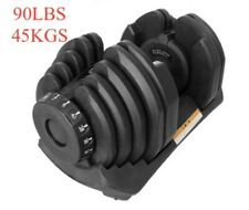 Brand New Pair (2) of Adjustable Dumbbells(Up to 90lbs/45kg)