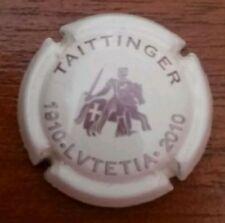 Capsule champagne plaque de muselé TAITTINGER Centenaire HOTEL LUTETIA  2010