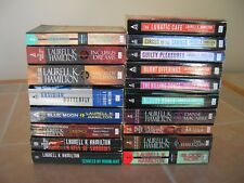 18 ANITA BLAKE Vampire Hunter series Laurell K Hamilton Paperback Book Lot