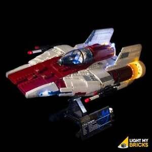 LIGHT MY BRICKS - LED Light Kit for LEGO UCS A-Wing Starfighter 75275 set - NEW
