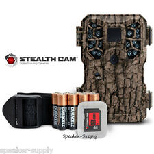 Stealth Cam PX18 8MP Camo Bundle Game Trail Deer Camera Cam + Batteries + 8GB SD