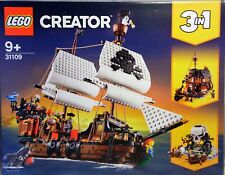LEGO Creator 31109 Piratenschiff 3 in 1 Piratentaverne Pirateninsel Floß  NEU