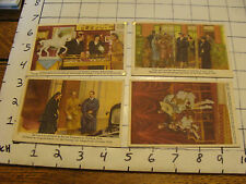 COTE D'OR chocolat belge cards (4 cards) group 1,