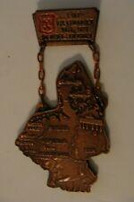 older German hiking medal Nieder Liebersbach 1979 Wandertag West & East Germany