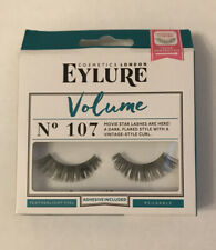 Eylure False Eyelashes - VOLUME Style No 107 Ladies New