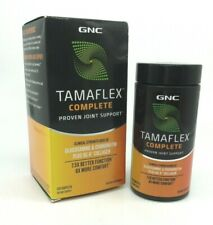 GNC Tamaflex Complete Joint Support 120 Caplets 10/21 NEW