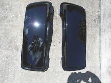 HARLEY-DAVIDSON FLHTCUSE2 BLACK ICE SADDLEBAG LIDS 90738-07CKF / 90737-07CKF jc