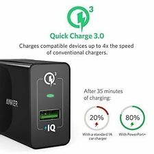 Anker Universal 18W USB Wall Charger PowerPort+ 1 Quick Charge 3.0 Fast Charge