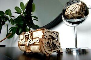 """Ugears Code: 70089 Wooden 3D Mechanical model """"Antique casket"""""""