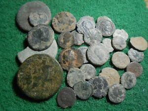 30 monedas romanas (lote)