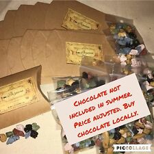 3 Harry Potter Party Favor Bezoar Box Stone Goodie Bags