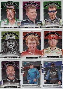 2021 Panini Donruss NASCAR Racing Parallel Optic Base - Pick Your Card