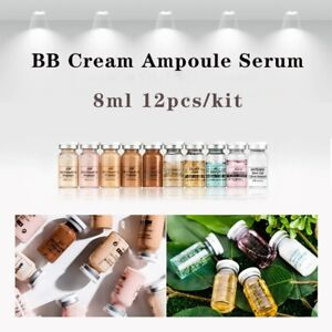 12pcs BB Cream Golden Ampoule Serum Starter Booster Kit Exact Natural Hyaluronic