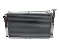 5 Row Aluminum Radiator For Nissan Gq Patrol Y60 4.2l Petrol Engine 1987-1997 Mt