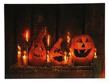 Fantástico LED Cuadro de Halloween Con Hermoso Iluminación 30x40 cm