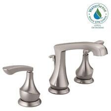 delta bathroom faucets brushed nickel. Delta Merge 8 Inch Widespread 2-handle Bathroom Faucet In SpotShield Brushed Nickel Faucets E