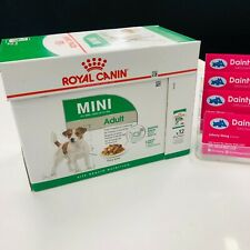 Royal Canin Mini Adult Wet Food Pouches Small Breed 12x85g