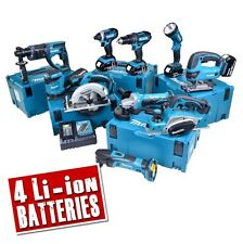 MAKITA 10CMJ 18v Li-ion Cordless 10 Piece Kit