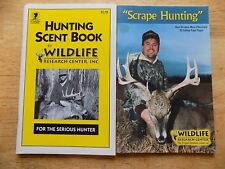 Hunting Scent Book + Scrape Hunting - Wildlife Research Center, Inc.