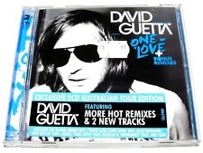 cd-album, David Guetta - One Love + Bonus Remixes, 2CD Australian Tour Edition