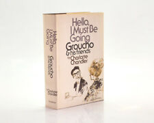 Hello, I Must Be Going. Groucho & Friends, Charlotte Chandler 1978 1st Signed