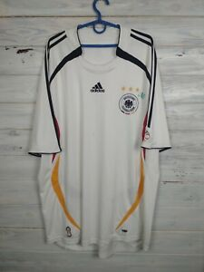 Germany Jersey 2005 2006 Home Size XXL Shirt Adidas Football Soccer