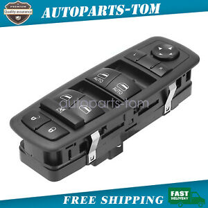 Power Window Switch Front Driver Left Side for 2014 Jeep Grand Cherokee SRT 6.4L