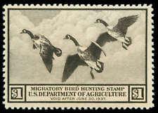 momen: US Stamps #RW3 Duck Mint OG NH F/VF