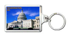 WASHINGTON DC KEYRING SOUVENIR NEW LLAVERO