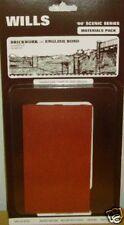 Wills SSMP227 Brick-English Bond Sheets. NEW (00 Gauge)