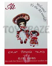 JUN PLANNING AI BALL JOINTED DOLL PETUNIA A-725 FASHION PULLIP GROOVE INC NEW