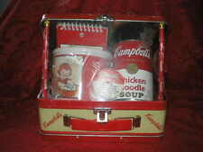 Collectible Campbell's Kids Lunchbox 1998 with mug, pad, pencil and soup Near Mi