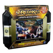 Spin Master~REDAKAI Championship Tin~Conquer The Kairu Game~43 X-Drives~SEALED